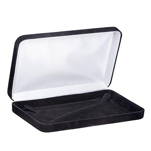 Allure Echelon Pearl Necklace Box, Black