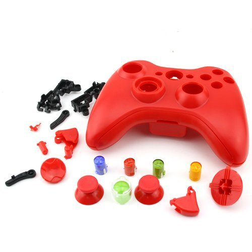 Wireless Controller Replacement Shell Red for Xbox360 Controller