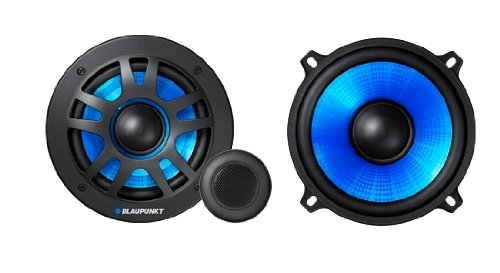 Way 260 Two Speakers Watt - Blaupunkt - GT Power 65.2c - 6.5 Inch 2 Way Component Speakers (260 W)