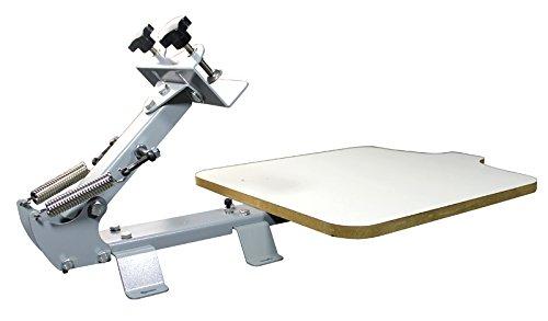 Techtongda 1 Color Screen Printing Press Kit Machine 1 Station Silk Screening Pressing DIY by Screen Printing Equipment