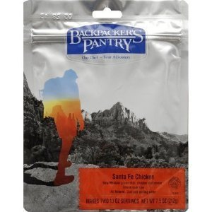 Backpacker's Pantry Santa Fe Chicken - Two Serving Pouch by Backpacker's Pantry