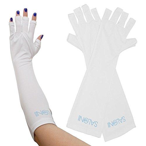 Salon Edge Protective Gloves White