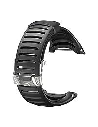 Suunto Core Wrist-Top Computer Watch Replacement Strap (Light Black)