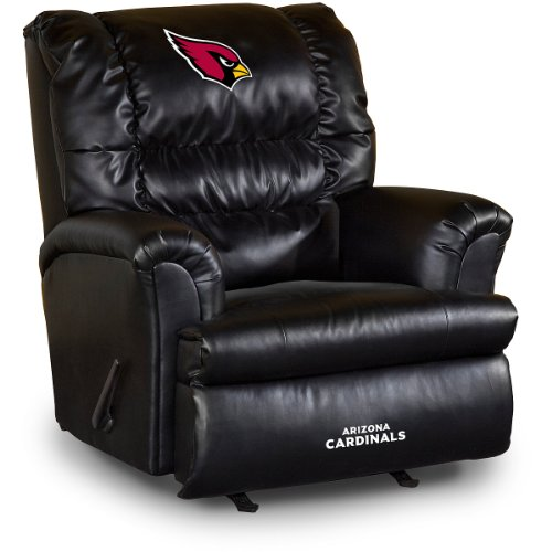 - Imperial Officially Licensed NFL Furniture: Big Daddy Leather Rocker Recliner, Arizona Cardinals