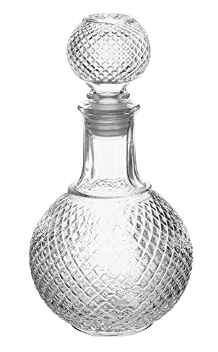 European Glass Scotch Decanter with Stopper, 32 Ounce ()