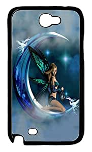 IMARTCASE Samsung Galaxy Note 2 Case, Moon Fairy PC Black Hard Case Cover for Samsung Galaxy Note 2 N7100