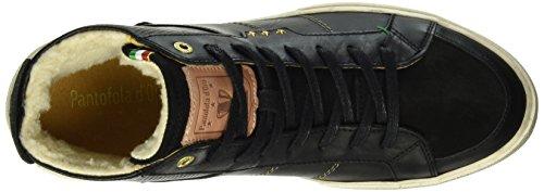 Uomo Pelliccia 25y Schwarz Mid Pantofola Teco d'Oro Sneaker qcxWwScA1Z