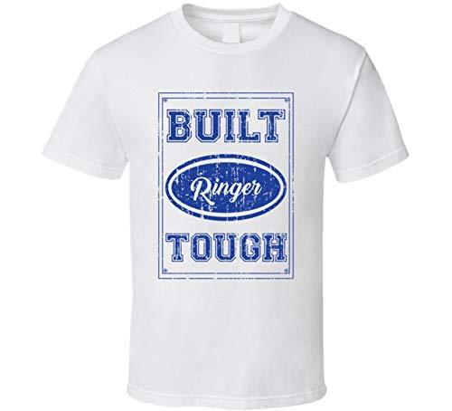 Family Reunion Ringer T-shirt - SHAMBLES TEES Built Ringer Tough Tee Car Lover Group Last Name Family Reunion T Shirt L White