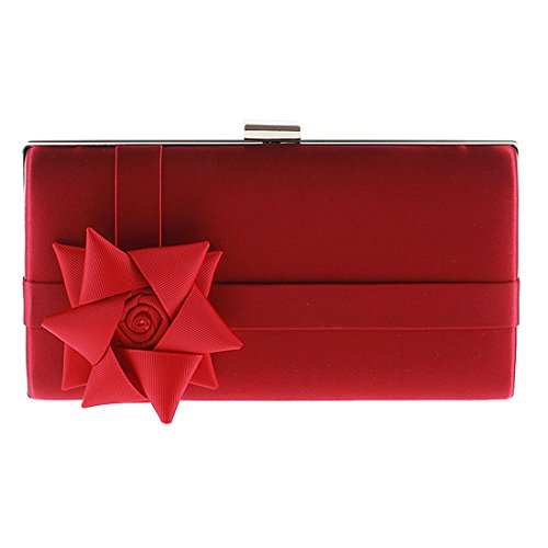 SSMK Evening Bag - Cartera de mano para mujer Red