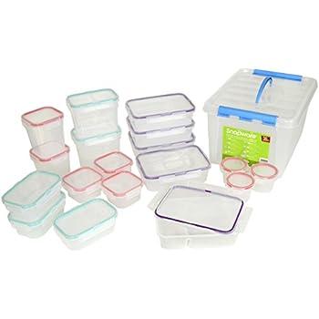 BPA Free Snapware 38 Piece Airtight Plastic Storage Container Set