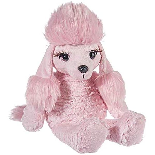 TM 15-inch Height Dog Plush Toy Cream Ganz H14801 Lashoos Plush ...