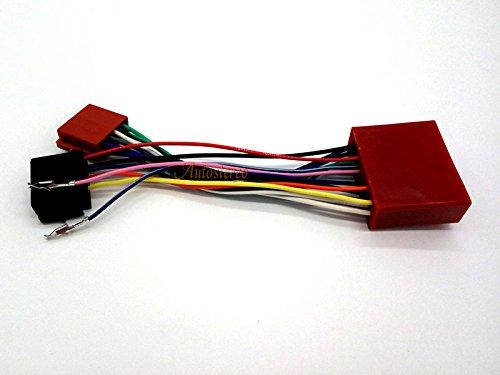 ZWNAV 12 - 015 Standard ISO Cablaggio autoradio per Mazda 2001 + Auto Radio Stereo Cavo adattatore ISO Autostereo TECH