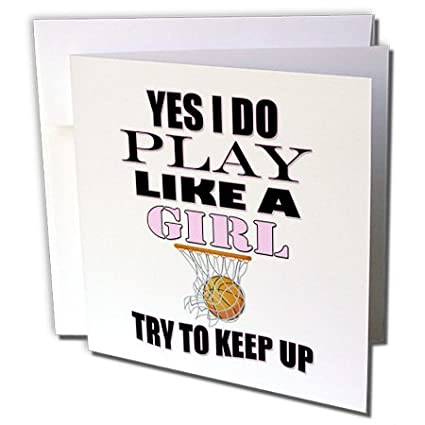 Amazon.com : 3dRose RinaPiro - Sport Quotes - Yes I do play ...