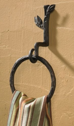 Park Designs Nature Walk Towel Ring Hook ()
