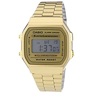 Casio Reloj Unisex Collection A168WG 9