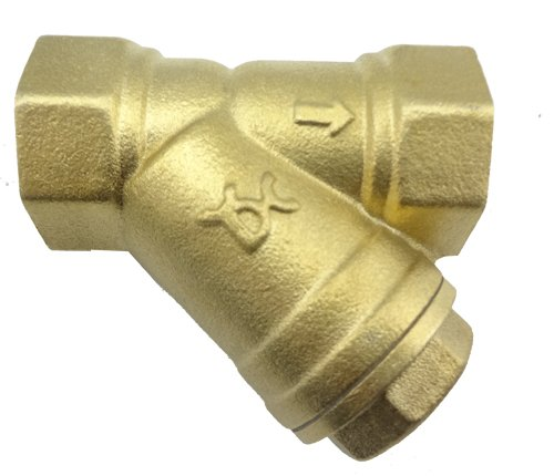MISOL 10 PCS of G1''(BSP, DN25) Brass Y Type Strainer Valve Connector Fitting by MISOL