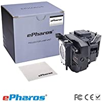 ePharos ELPLP67 / V13H010L67 Replacement Lamp with Housing for Epson Projectors