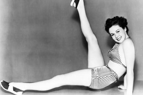 hol tudok venni kivezetés olcsón vásárol Susan Hayward sexy glamour pose in bikini raising leg 11x17 Mini ...