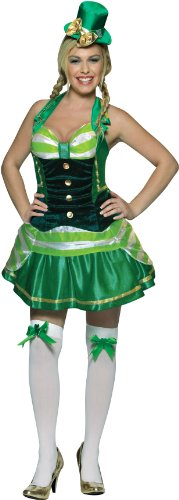 Rasta Imposta Shamrock Sweetheart, Green, Adult 4-10 -