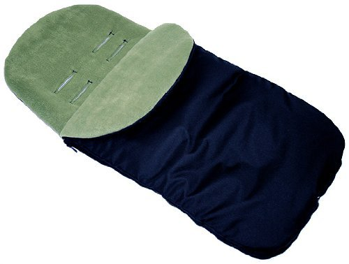 UNIVERSAL FIT FOOTMUFF COSY TOES FIT BUGGY & ALL PUSCHAIR ACCESSORIES (Dark Green) Babymam