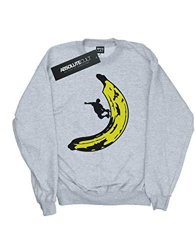 Sport Drewbacca Absolute Banana Sweat Garçon Skateboard Gris Cult shirt fqBw0g