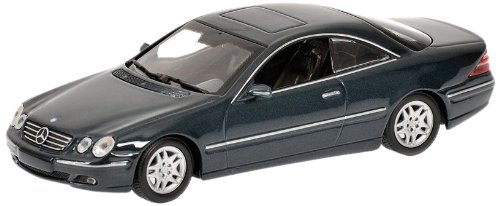 MINICHAMPS 1/43 - 430 038029 MERCEDES BENZ CL CLASS 1999 - GREEN METALLIC B003PU91JI