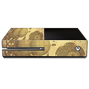 MightySkins Skin Compatible with Microsoft Xbox One – Steam Punk Paper | Protective, Durable, and Unique Vinyl Decal wrap Cover | Easy to Apply, Remove, and Change Styles | Made in The USA