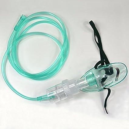 Uniqus - Kit de nebulización con máscara de nebulización para uso médico y doméstico, concentrador