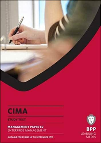 CIMA - Enterprise Management: Study Text