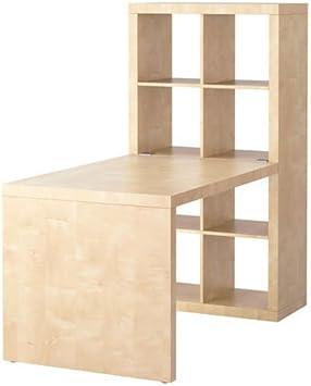 Ikea Expedit Bibliotheque Bureau Et Affichage Cube Effet Bouleau Amazon Ca Maison Et Cuisine