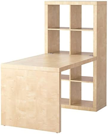 Ikea Expedit Desk and Bookcase Cube