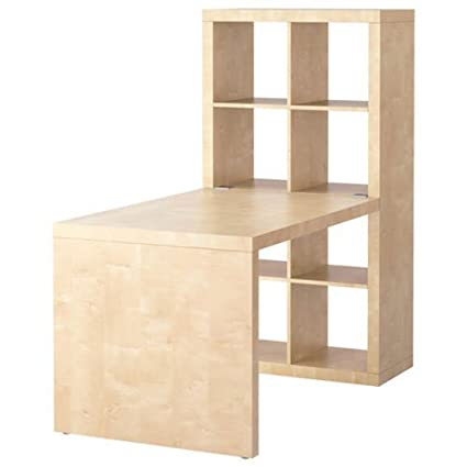 Elegant Ikea Expedit Desk and Bookcase Cube Display Birch Effect In 2019 - Modern ikea cube table Modern
