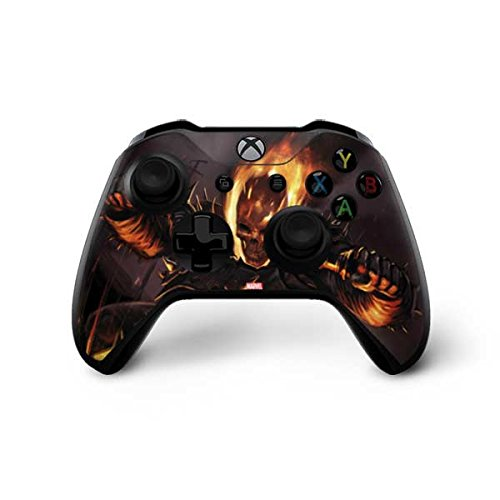 - Skinit Ghost Rider On Patrol Xbox One X Controller Skin - Officially Licensed Marvel/Disney Gaming Decal - Ultra Thin, Lightweight Vinyl Decal Protection