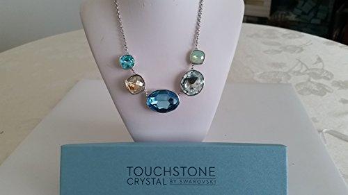 Touchstone Crystal by Swarovski Sea Glass Crystal Statement Necklace (Jewelry Touchstone Crystal)