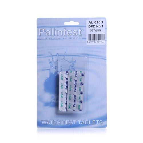 Palintest Chlor-Testtabletten DPD1, für Schwimmbad, Whirlpool, 50 Stück für Schwimmbad 50 Stück AL 010B