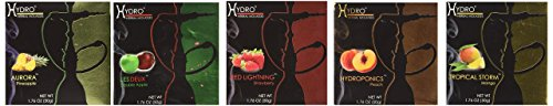 Hydro Herbal 250g, 5 Mix: Apple, Strawberry, Mango, Peach & Pineapple, Hookah Shisha Tobacco Free (Best Zebra Hookah Charcoals)