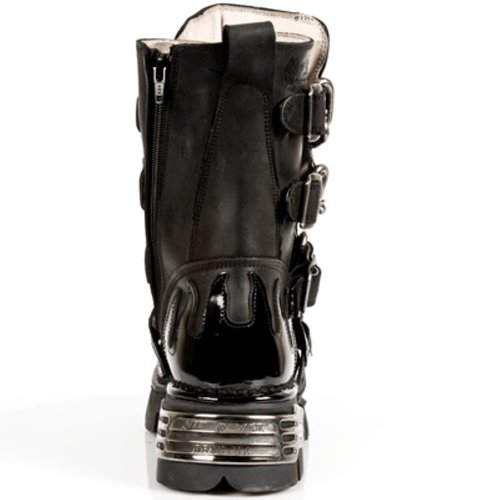 Nero S1 727 Nuovo Stile Stivali Roccia Di FYSvv6zc7