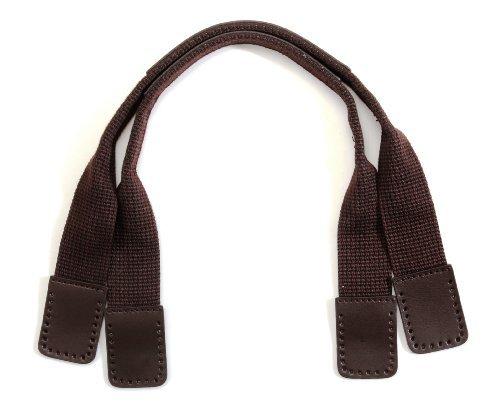 byhands hand craft 24-4503-BR 24-4503 Purse Handles, Brown