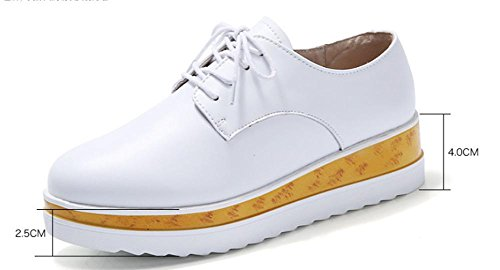 Mme Spring Soulève La Pente Avec Des Chaussures De Muffin De Chaussures En Croûte Épaisse Chaussures Britanniques Occasionnels, Us8 / Eu39 / Uk6 / Cn39