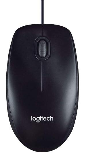 3f823b8be50 Logitech M100 USB Optical Wired Mouse, Black (910-001601): Logitech:  Amazon.ca: Electronics