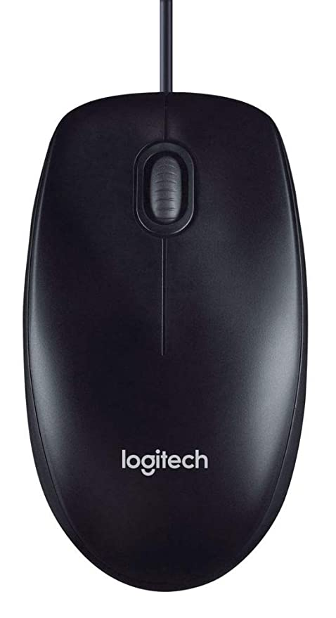 9168826c245 Logitech M100 Corded Mouse - Wired USB Mouse for Computers and Laptops, for  Right or
