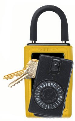 Ge Keys Black Silver And Yellow Clamshell