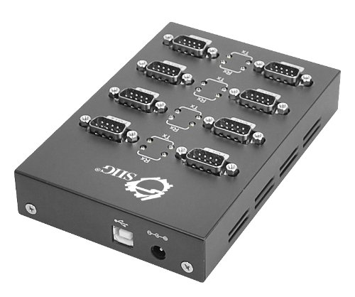 SIIG 8-Port USB to RS-232 Serial Adapter Hub (JU-SC0211-S1) by SIIG (Image #1)'