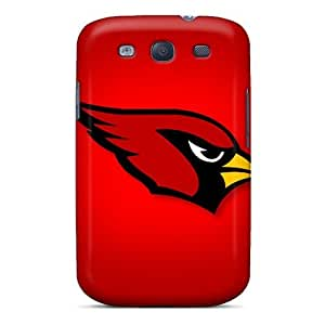 Galaxy S3 Case Cover Skin : Premium High Quality Arizona Cardinals Case