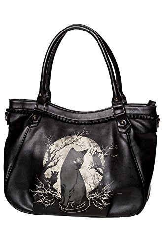 Banned Hecate In Full Moon Handbag - Black/One Size
