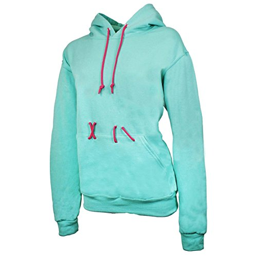 Largemouth Women's Vanellope Costume Hoodie, Mint (XX-Large) -