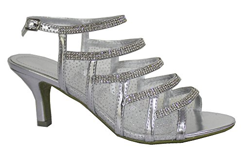 Zapatos Absolutely Plata Gorgeous De Boutique Mujer Tacón qqwEr0Zg