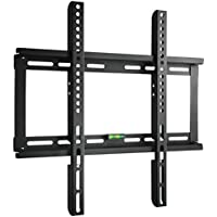 "Paladinz TV Wall Mount Bracket Ultra Slim Design for most 23""-55"" Inch LCD LED TV Flat Panel Screen Plasma VESA up to 400x400mm 200x200mm with Bubble Level"
