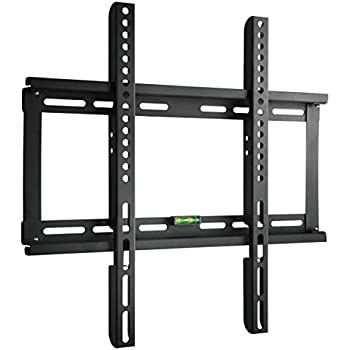 "Paladinz TV Wall Mount Bracket Ultra Slim Design for most 23""-55"" LCD LED TV Flat Panel Screen Plasma VESA up to 400x400mm 200x200mm with Bubble Level"