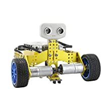 Tenergy ODEV Tomo STEM Robot 2-in-1 Transformable and Programmable APP Controlled Robot Vehicle Kit for Kids Age 8+